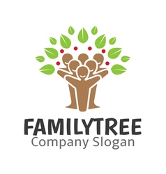 Family Tree Design vector