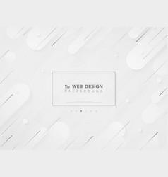 modern landing page web design modern geometric vector image
