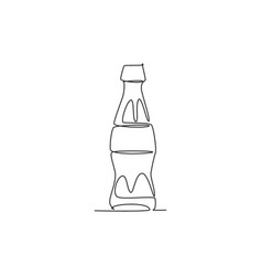 single continuous line drawing stylized soft vector image