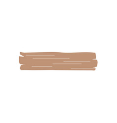 western wooden board icon design template isolated vector image