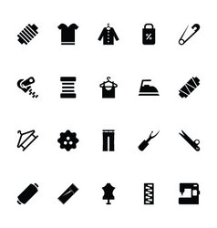 Sewing Icons 5 vector image