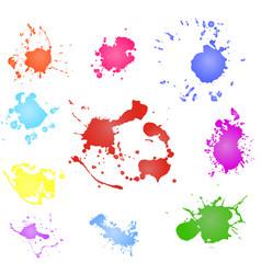 paint splash paint blotch vector image