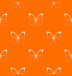 butterfly pattern seamless vector image