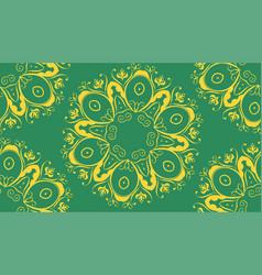 Flourish pattern design vector