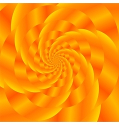 Gold spiral background fractal pattern vector