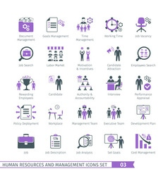 Human Resources Set 03 vector