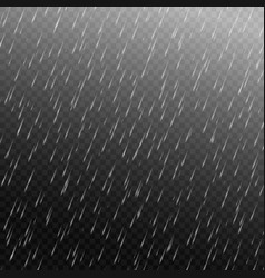 rain isolated vector image