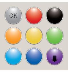 Set buttons vector