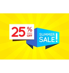 Summer Sale Sign Banner Poster ready for Web and vector