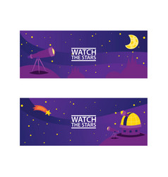 watch the stars banners journey to space with vector image