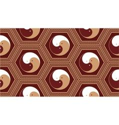 oriental seamless tile vector image vector image