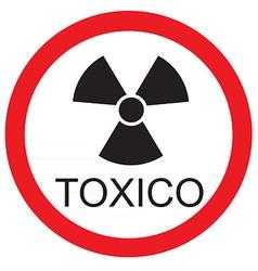 Toxico vector image
