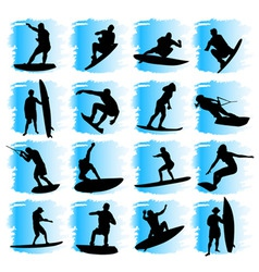 water sport vector image vector image