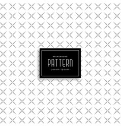 Abstract pattern design in cross style vector