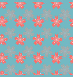 Beautiful abstract cherry blossom seamless pattern vector