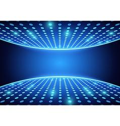 Blue Spotlights Background vector