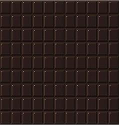 Chocolate seamless dark handmade bio food vector