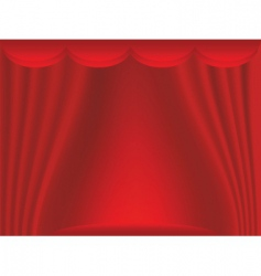 Curtain backdrop vector