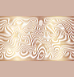 distorted wave monochrome texture abstract vector image