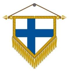 Flag finland vector