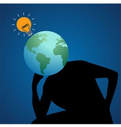 Global Thinker vector