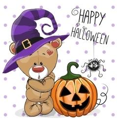 Halloween Bear vector image