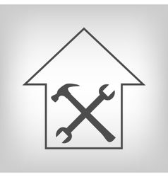 House repair sign vector image