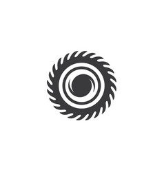 industrial saw icon vector image
