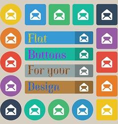 Mail envelope letter vector image
