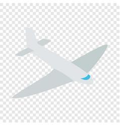 passenger plane isometric icon vector image