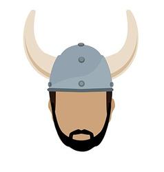 Viking vector image vector image