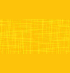 yellow orange grunge scratched background vector image