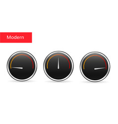 download speed tachometer icon vector image