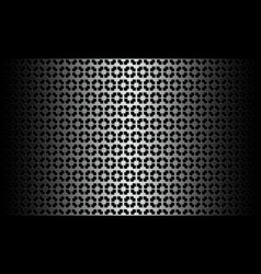 black white pattern vector image