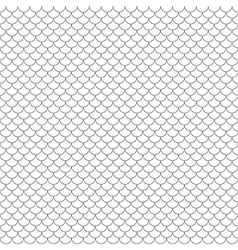 scales simple seamless pattern vector image