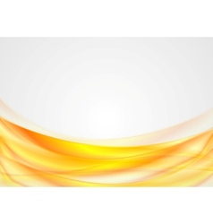 Bright abstract smooth wavy background vector