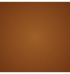 Brown leather texture pattern vector image