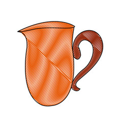 Coffee cup ceramic beverage icon vector