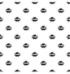comic boom crash pattern seamless vector image