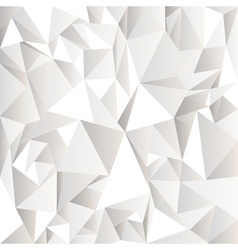 White crumpled abstract background vector image