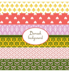 Summer vintage pattern vector