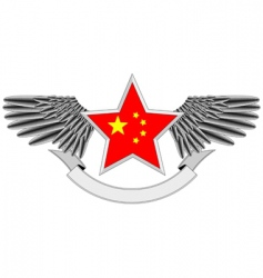 heraldic Chinese vector image vector image