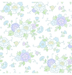 floral pattern wedding vector image vector image