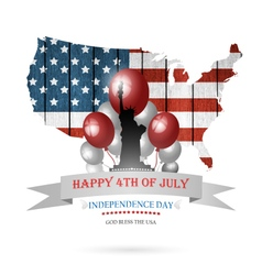 Fourth Of July Background vector image