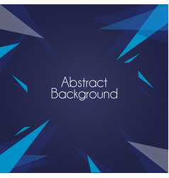 abstract background geometric shapes wallpaper vector image