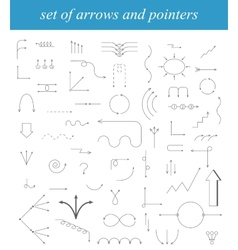 Arrows Drawn vector