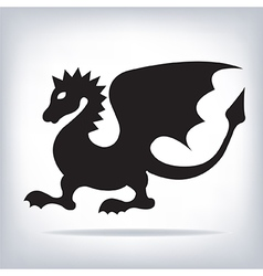 Dragon for your design vector