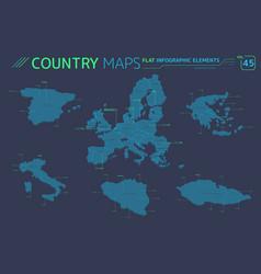 European union italy greece czech republic vector