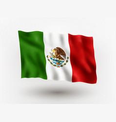 Flag mexico vector