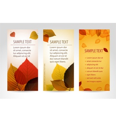 Fresh natural banners vector